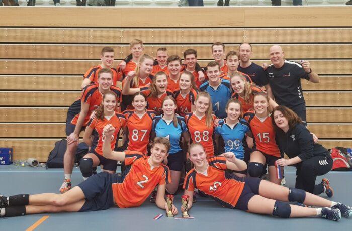 Polaris topjeugd pakt de titel bij jongens en meisjes U19 in Purmerend