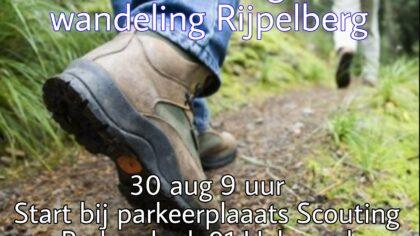Woensdagochtend wandeling Rijpelberg