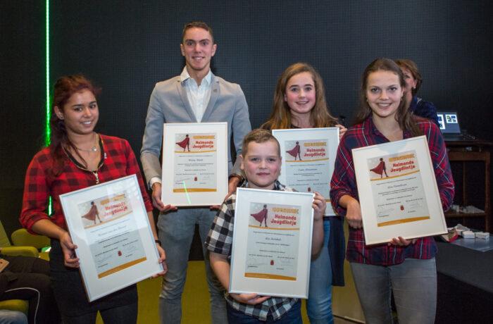 Succesvolle eerste editie: 5 Jeugdlintjes uitgereikt in Helmond