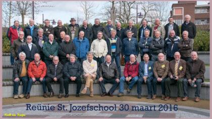 Ook reünie St. Jozefschool Helmond in 2018