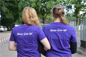 Samenloop never give up