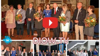 Filmverslag uitreiking Koninklijke onderscheidingen in Helmond