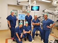 Het gespecialiseerd OK-team voor oogoperaties