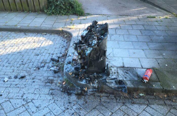 Getuigen gezocht voor diverse containerbranden in Rijpelberg