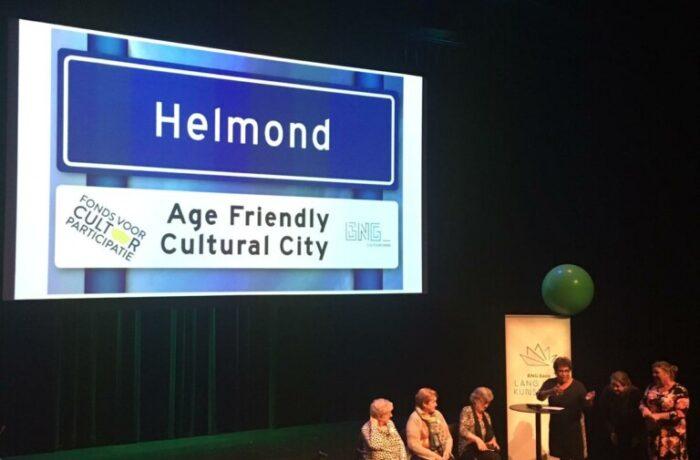 2e prijs voor Helmond 'Age friendly cultural cities'