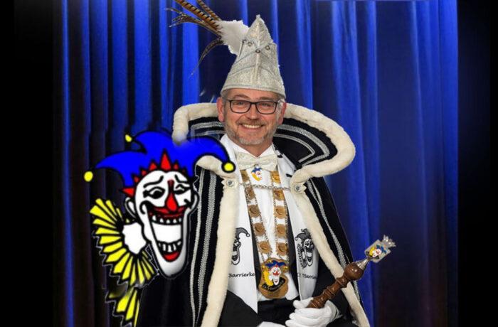 Prins Jos d'n Uurste bij CV 't Barrieke