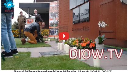 Video van de Bevrijdingsherdenking Mierlo-Hout 1944-2017