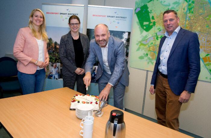 Start ruimtelijke ontwikkeling Brainport Smart District in Brandevoort