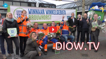 Winkelcentrum Brouwhorst is schoonste winkelgebied van Nederland…