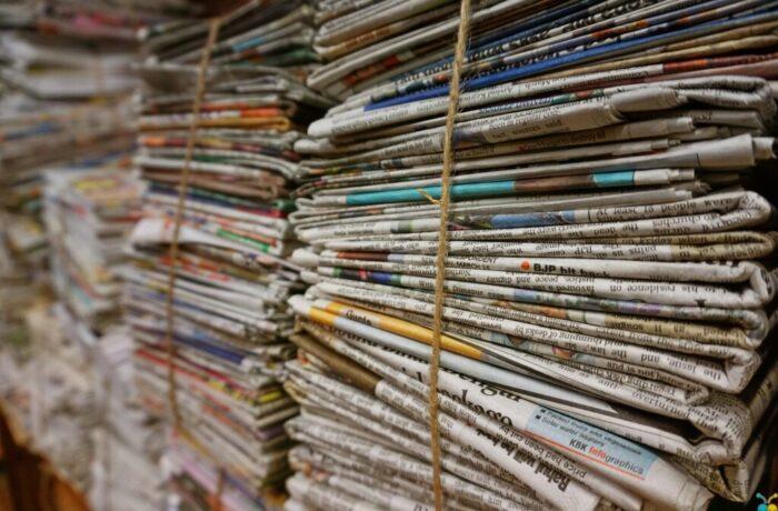 Rectificatie: Ophalen oud-papier in de Vissenbuurt