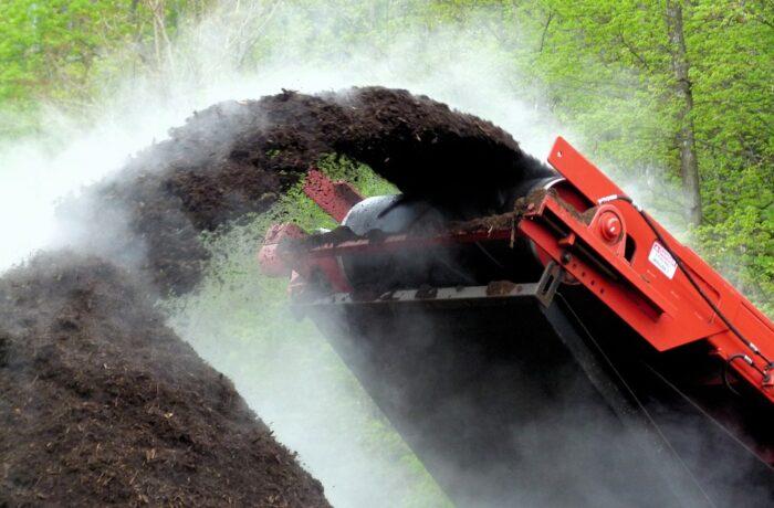 Gratis in oktober 'compost ophalen bij de milieustraat Helmond'
