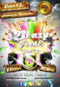 Crazy TeenZ Party @ Wijkhuis 't BrandPunt