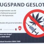 Bedrijfspand Heistraat voor 12 maanden dicht na vondst drugs