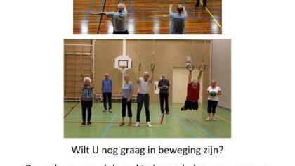 De ouderen gymclub in Wijkhuis De Fonkel zoekt nieuwe leden!