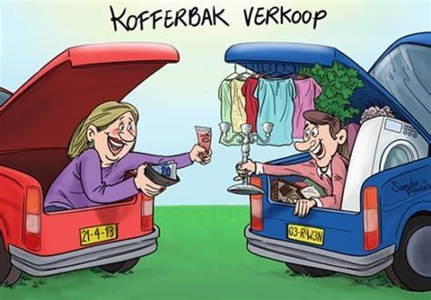 1e Pinksterdag van 10.30 tot 15.30 uur Garageverkoop – Kofferbakverkoop te Houtsdonk