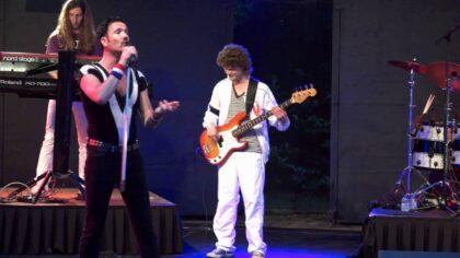 Alweer het laatste kasteeltuinconcert met de tributeband Queen Forever