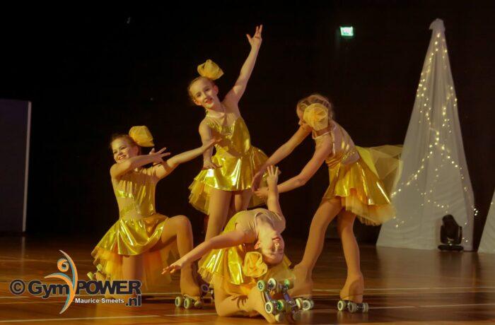 Helmondse rijdsters schitteren in Kerstshow RV Olympia 2019!