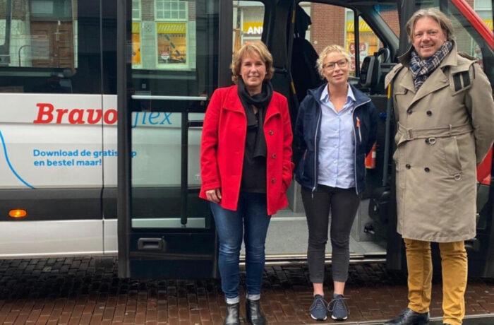 In totaal zijn er nu 125 haltes Bravoflex verspreid over alle wijken in Helmond