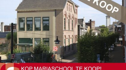 De voorbouw van de voormalige Mariaschool is te koop!