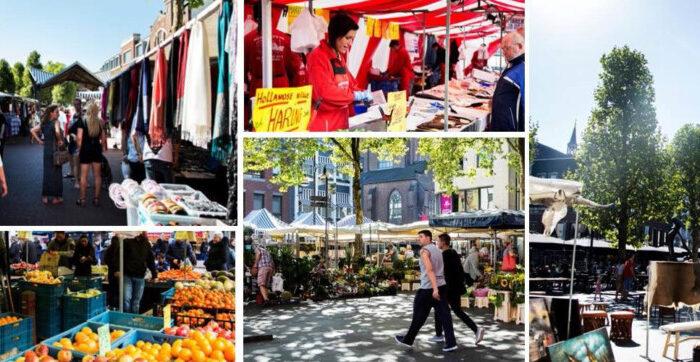 Kom elke zaterdag naar de gezellige Helmondse markt!
