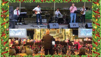 Sfeervol kerstconcert met Muziekvereniging Muzikale en de Boel Nölle Band.