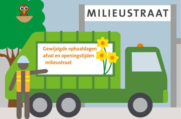 Pinksteren: kantoren in Helmond gesloten en gewijzigde afvalinzameling
