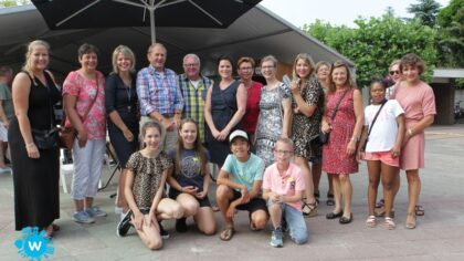 Veel jeugdherinneringen en anekdotes bij reünie St Odulfusschool Mierlo-Hout: Fotogalerij