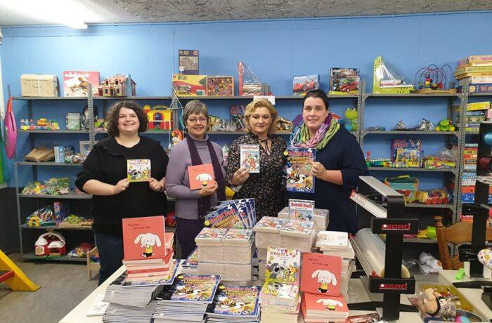 Honderden boeken voor stichting Speel je mee in Helmond