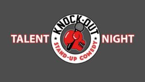 Knock Out Comedy Talent Night @ De Vijfhoeck