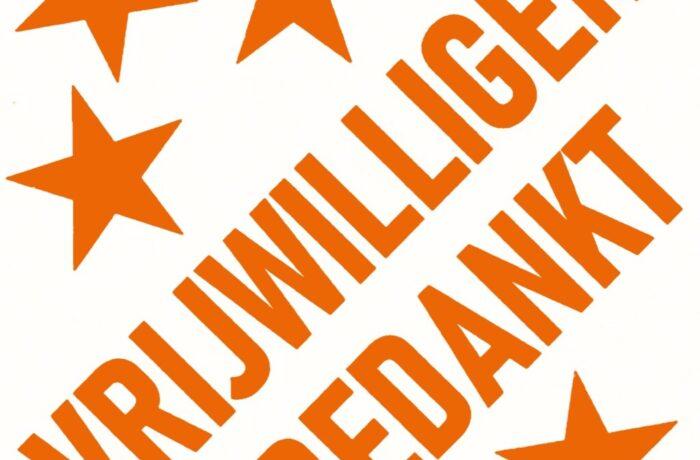 Feestelijke waarderingsactie voor de vrijwilligers in Helmond aanvragen