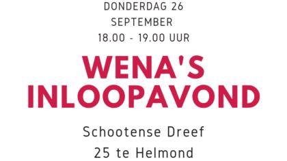 WENA's Inloopavond: gratis advies op gebied van cv's en sollicitatie!
