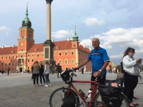 Presentatie fietstocht