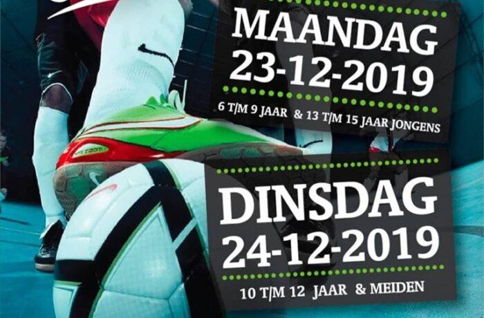 Op 23 en 24 december wordt voor de 5e keer het zaalvoetbaltoernooi georganiseerd in Helmond.