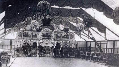 De ballroom waar velen romantiek beleefden