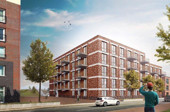 Twee nieuwe woontorens op Suytkade: 76 appartementen