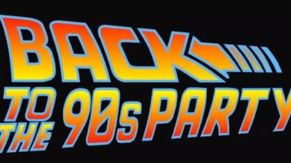 Back to the 90's Party!