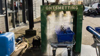 Bouwmaat test 'winkelwagenontsmetter'