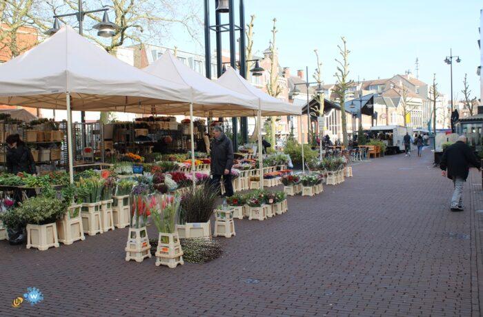 Zaterdagmarkt in Helmond gaat gewoon door