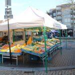 Zaterdagmarkt in Helmond in afgeslankte vorm