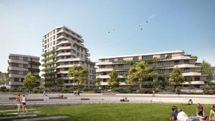 Start verkoop 67 appartementen De Weef in Helmond
