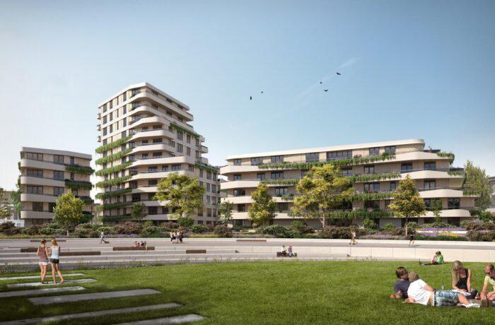 De Weef appartementencomplex in het Geukerspark
