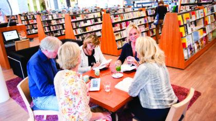 Bibliotheek Helmond start met een Tafelgesprek