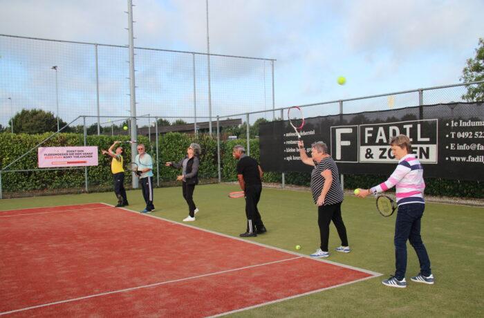 OldStars tennis bij TPC Espendonk