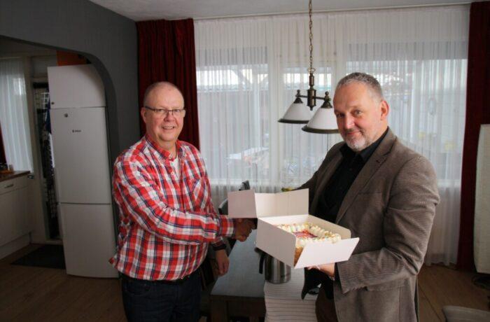 Eerste glasvezel-aansluiting in Helmond-Noord