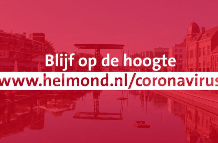 Laatste nieuws over het coronavirus in Helmond