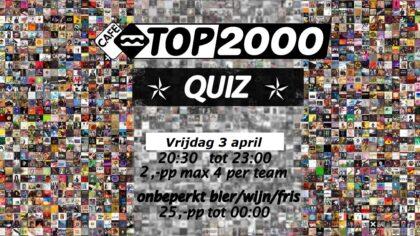 Top 2000 Avond: Quiz + Muziek