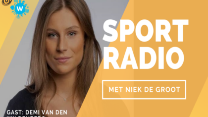 Radiopodcast: Helmondse top hardloopster Demi van den Wildenberg