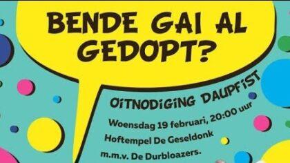 Daupfist De Kluppels opent het carnaval 2020