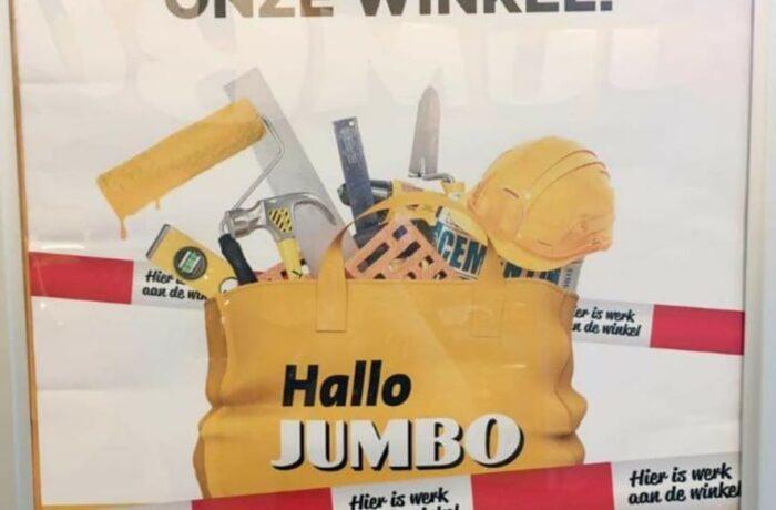 Jumbo aan de 2e Haagstraat 18 november weer open