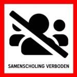 Sinds 23 maart 2020 geldt het verbod op samenscholing